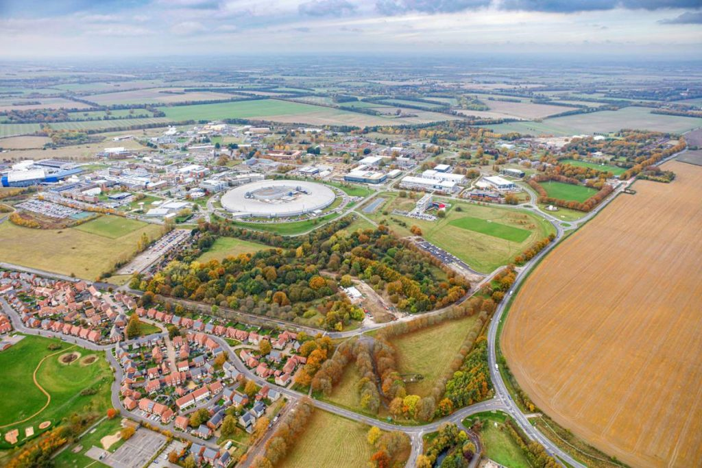 Harwell Campus and the Diamond Light Source in Oxfordshire