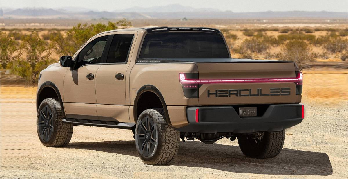 Hercules Electric Mobility takes on Worksport TerraVis Solar Truck Bed Tonneau