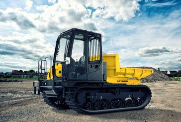 Yanmar unveils the all-new next-generation C50R-5A tracked carrier