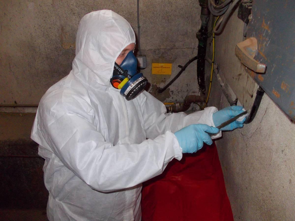 Locating hidden Asbestos during Intrusive Surveys