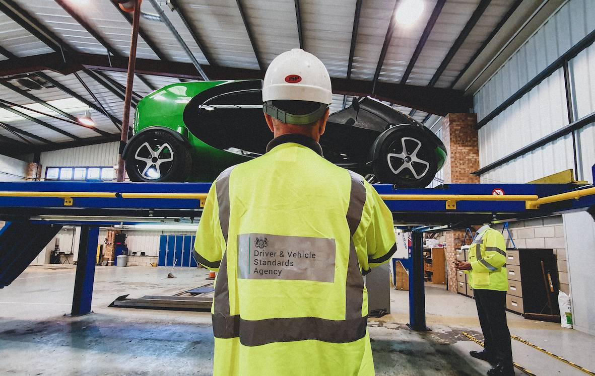 Britain's first vehicle, designed for autonomous delivery took a giant leap forward as the DVSA approved the core Kar-go roadworthy.