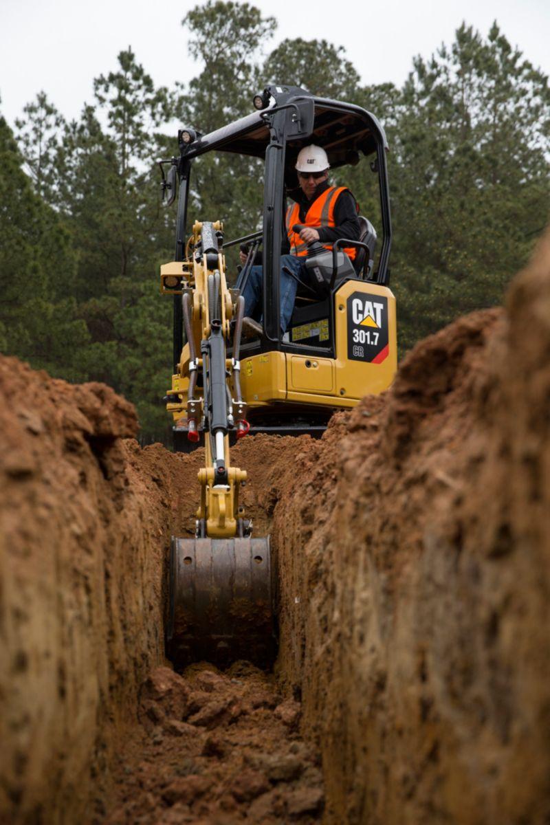 Next generation of Cat mini-excavators the most advanced small machines yet
