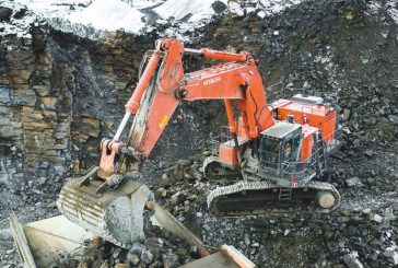 E Hartikainen upgrades with the latest generation of Hitachi EX1200-7 mining excavators