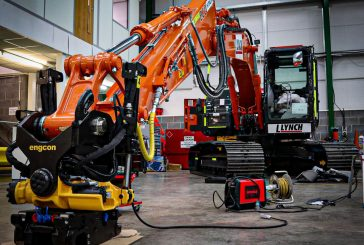 Hitachi Construction Machinery UK partners with Engcon to supply and fit tiltrotators