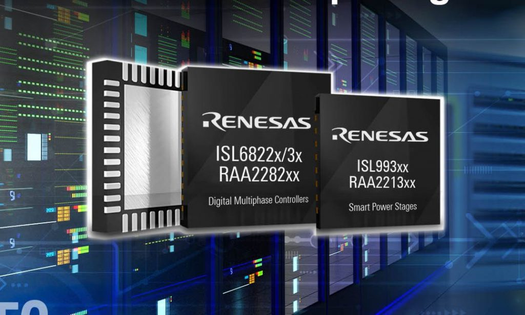 Renesas announces 2nd Generation IoT Smart Power and Multiphase Controllers