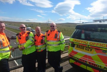 Highways England celebrates 50 years of Cumbria's M6 motorway