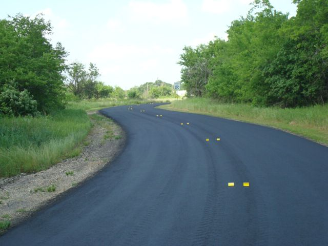 Innovative Roadway Solutions began working with Onyx, a frictional mastic surface treatment quickly gaining popularity with DOTs across the U.S. It offers high durability with frictional characteristics achieved from improving micro texture on the pavement surface.