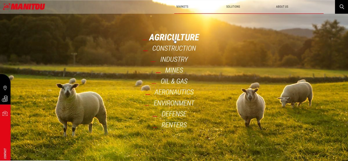 Manitou launches new website