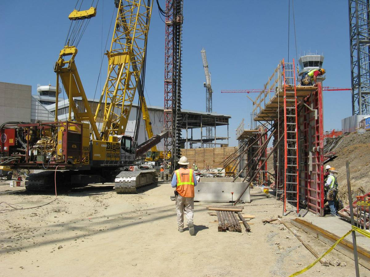 Fugro onsite at the Dallas Love Field Airport under a former contract involving foundation recommendations and materials testing