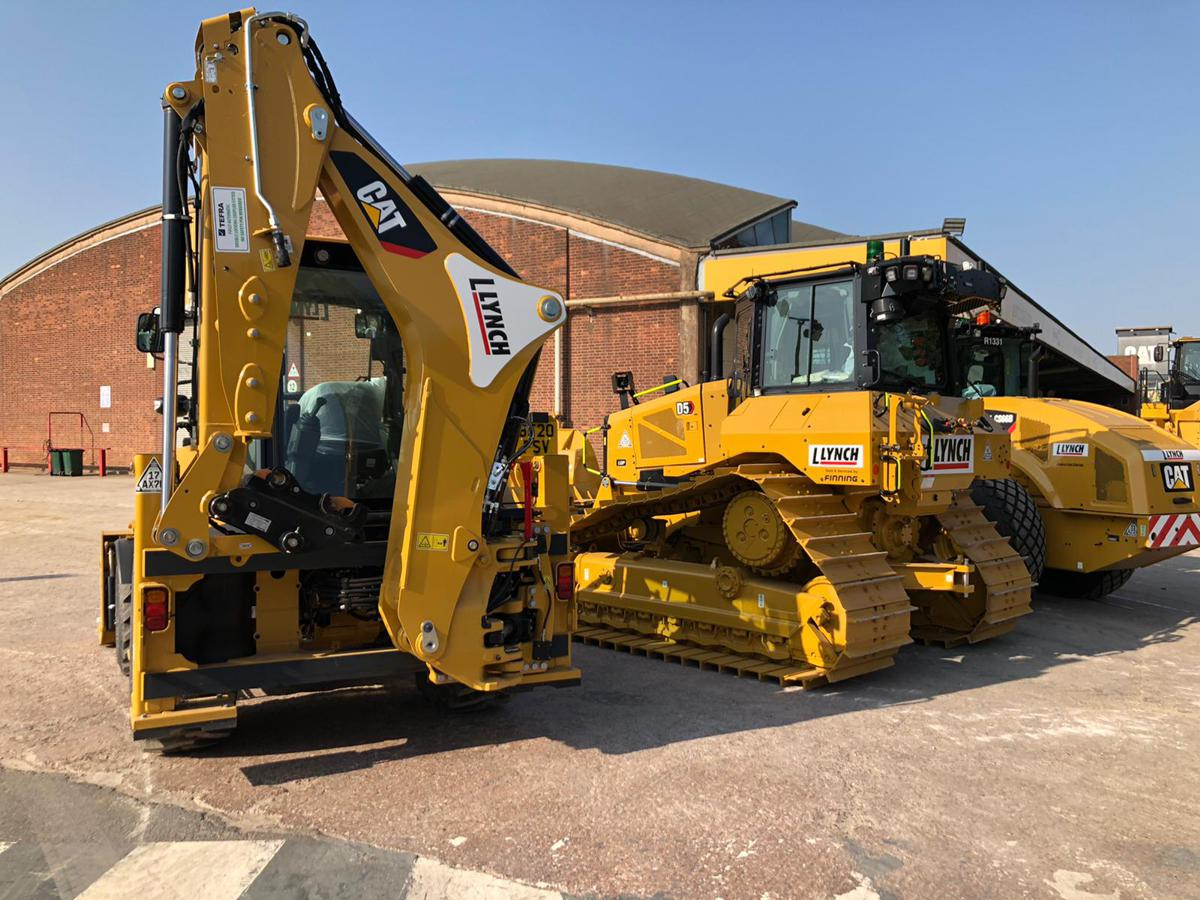 Lynch expands with 34 Caterpillar machines including an electric dozer