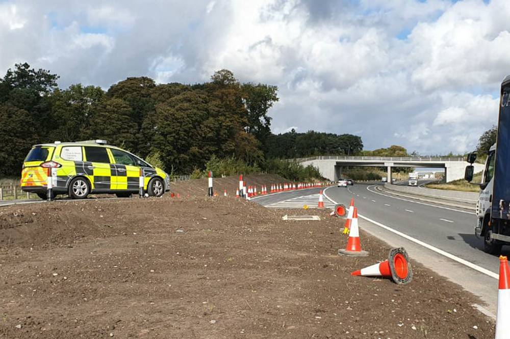 The platform is already being used by DVSA officers to monitor traffic on the dual carriageway