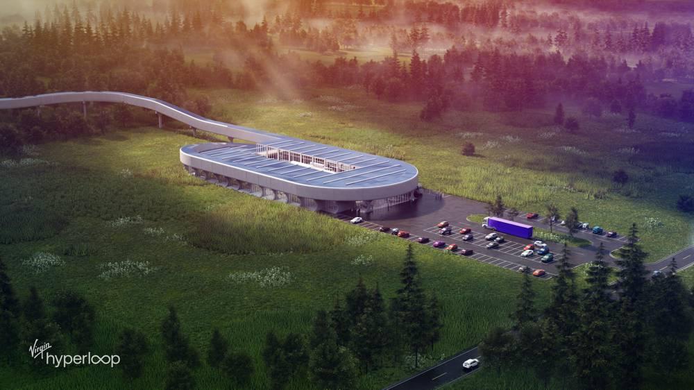 Virgin Hyperloop unveils Certification Center in West Virginia