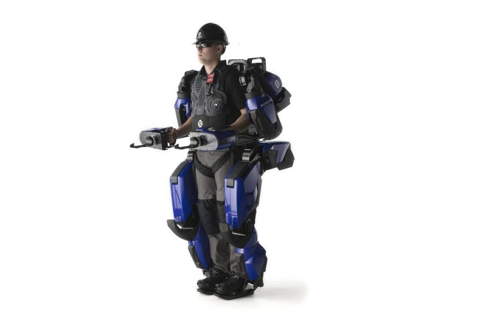 Sarcos Robotics Guardian Exoskeleton a Fast Company 2020 Innovation Award finalist