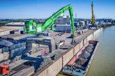 Port Danubia Speicherei in Austria relies on a SENNEBOGEN Port Handling Giant