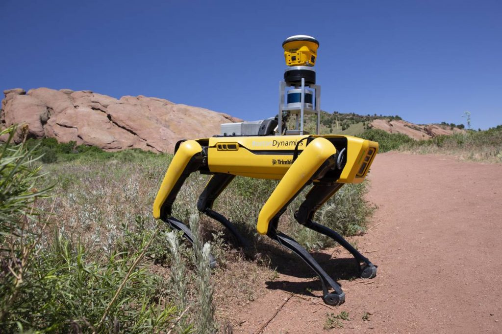Trimble and Boston Dynamics partner up for Autonomous Robots in Construction