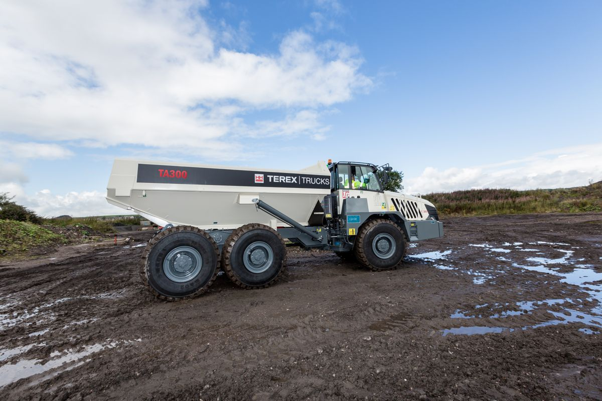 The TA300 has recently been upgraded, leading to improvements in fuel efficiency, performance, productivity and operator comfort.