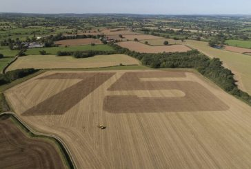 JCB 75th birthday celebration can be seen from space