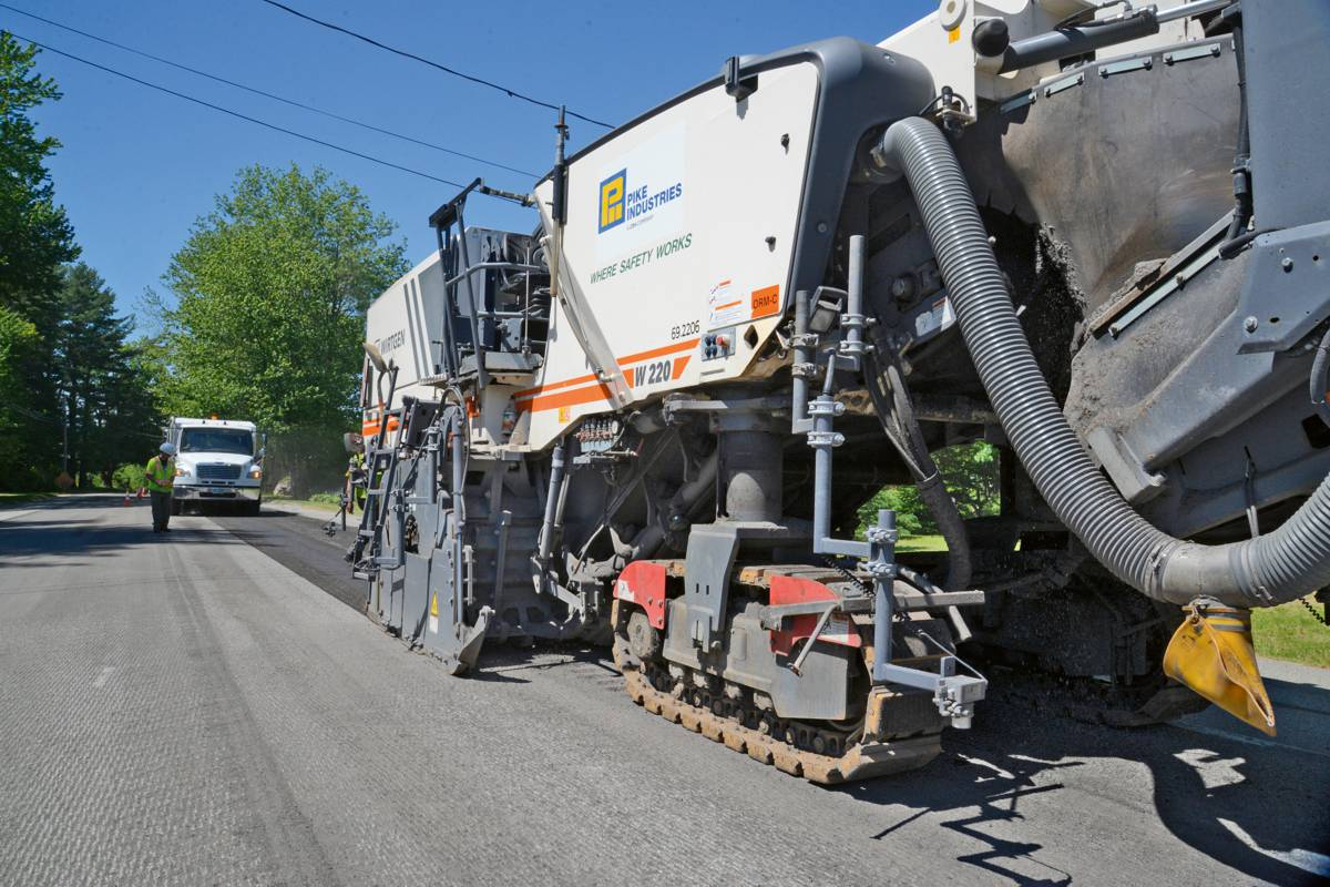 """A uniform milling pattern is extremely important to us, and a single set of PCD milling tools is enough to guarantee this each and every day for a long period of time,"" says Tom Quinn, Head of Cold Milling and Pavement Removal at Pike Industries, explaining his choice."