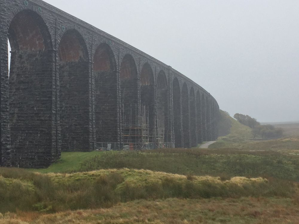 Network Rail starts work to restore iconic Ribblehead viaduct in Yorkshire
