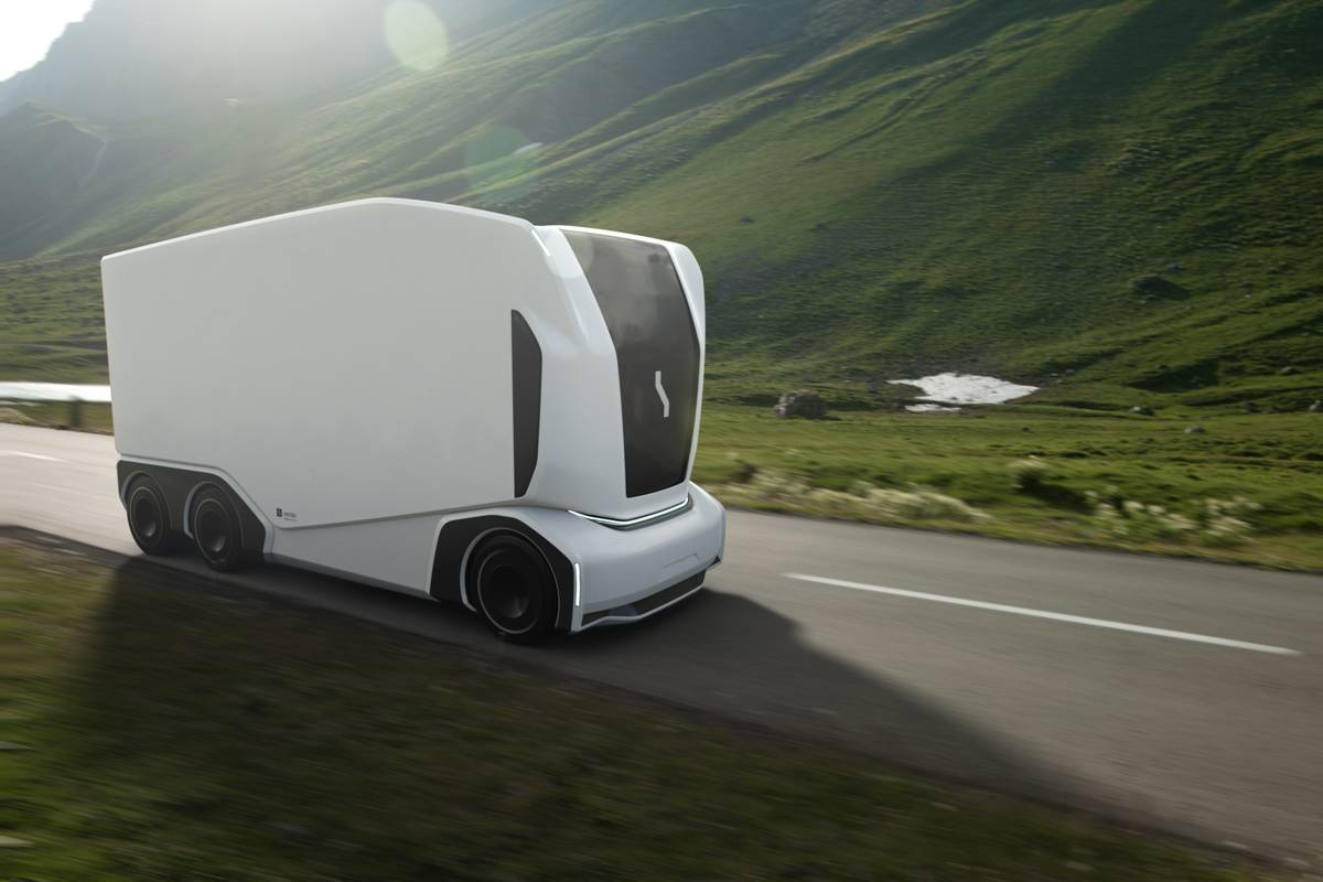 Einride launches next generation driverless electric transport vehicles