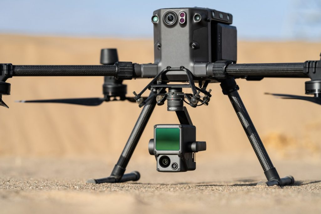 DJI unveils first integrated Lidar Drone and full-frame cameras for Aerial Surveying