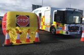 Highways England tests Vehicle Incursion Airbag to protect road workers
