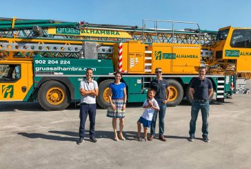 Grúas Alhambra adds to their Liebherr mobile construction crane fleet in Andalusia