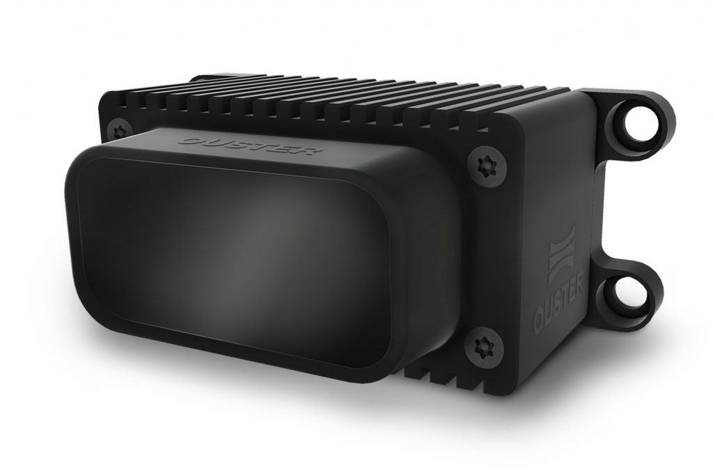 Ouster solid-state digital lidar sensor technology aims for $100 price point