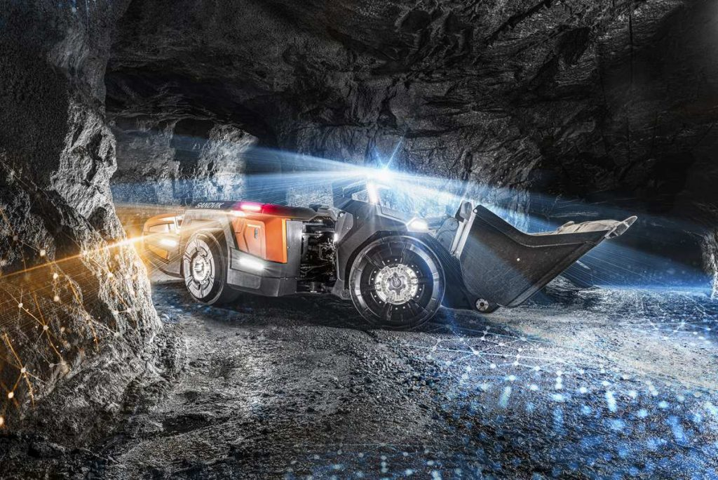 Sandvik revels their AutoMine Concept for mining automation