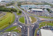 Middlesbrough Council completes the A66 throughabout
