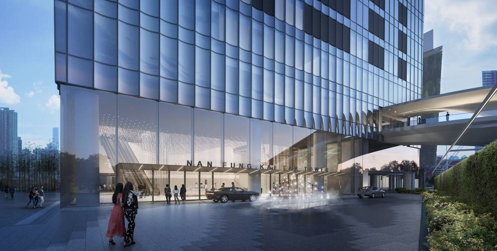 Snøhetta designs landmark building in Hong Kong at former Kai Tak Airport
