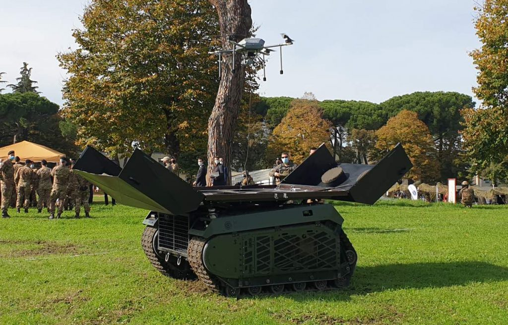 Italian Army assess Milrem Robotics autonomous THeMIS unmanned ground vehicle