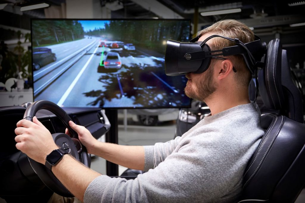 Volvo Cars using the latest gaming technology to develop safer cars