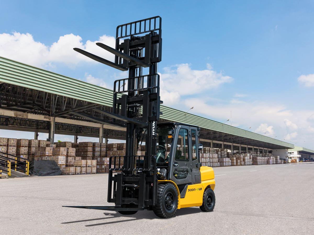 Hyundai Material Handling introduces new 9V diesel Smart Forklift Trucks