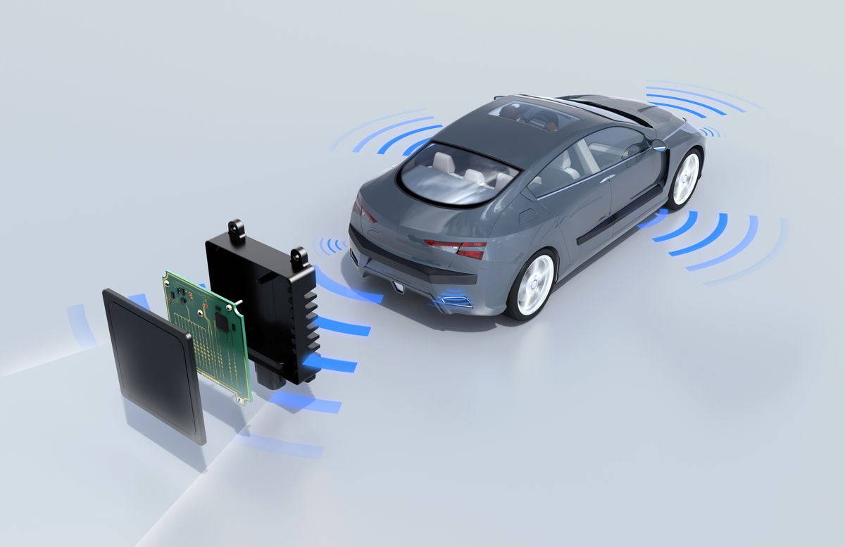 BASF Ultradur RX radar sensors clear up automated driving imagery