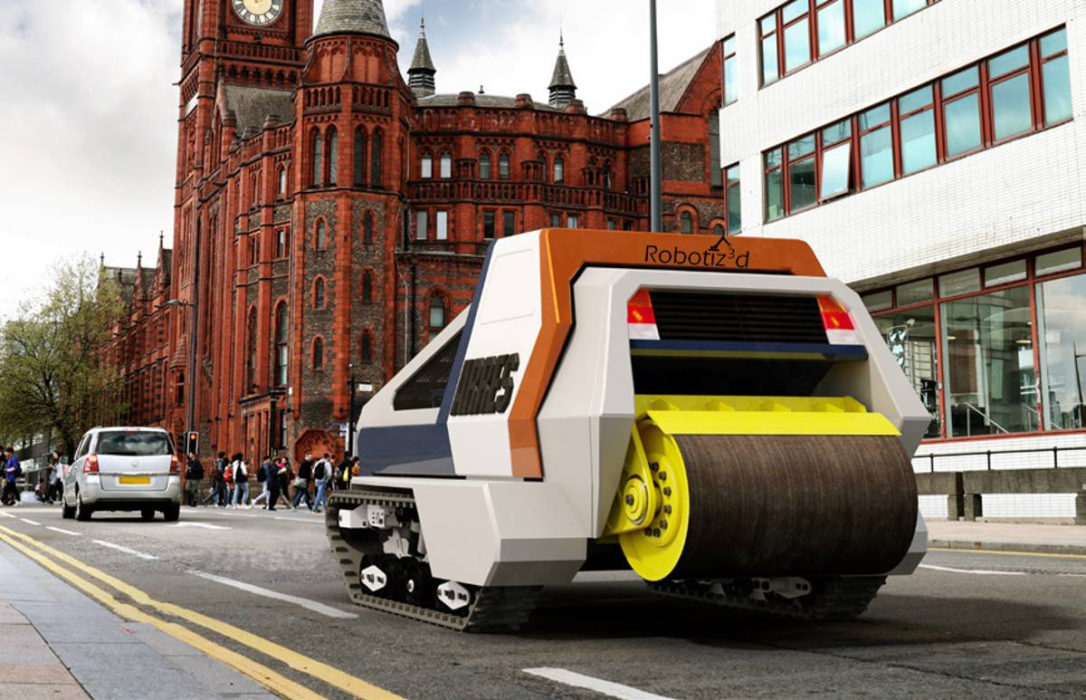 Robotic Pothole Innovation plans to revolutionise road repairs