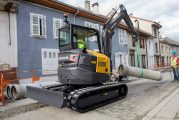 Introducing the new Volvo F generation ECR50 Compact Excavator
