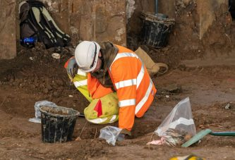 Highways England Archaeologists expose jails, bombs and mapping mysteries in Hull