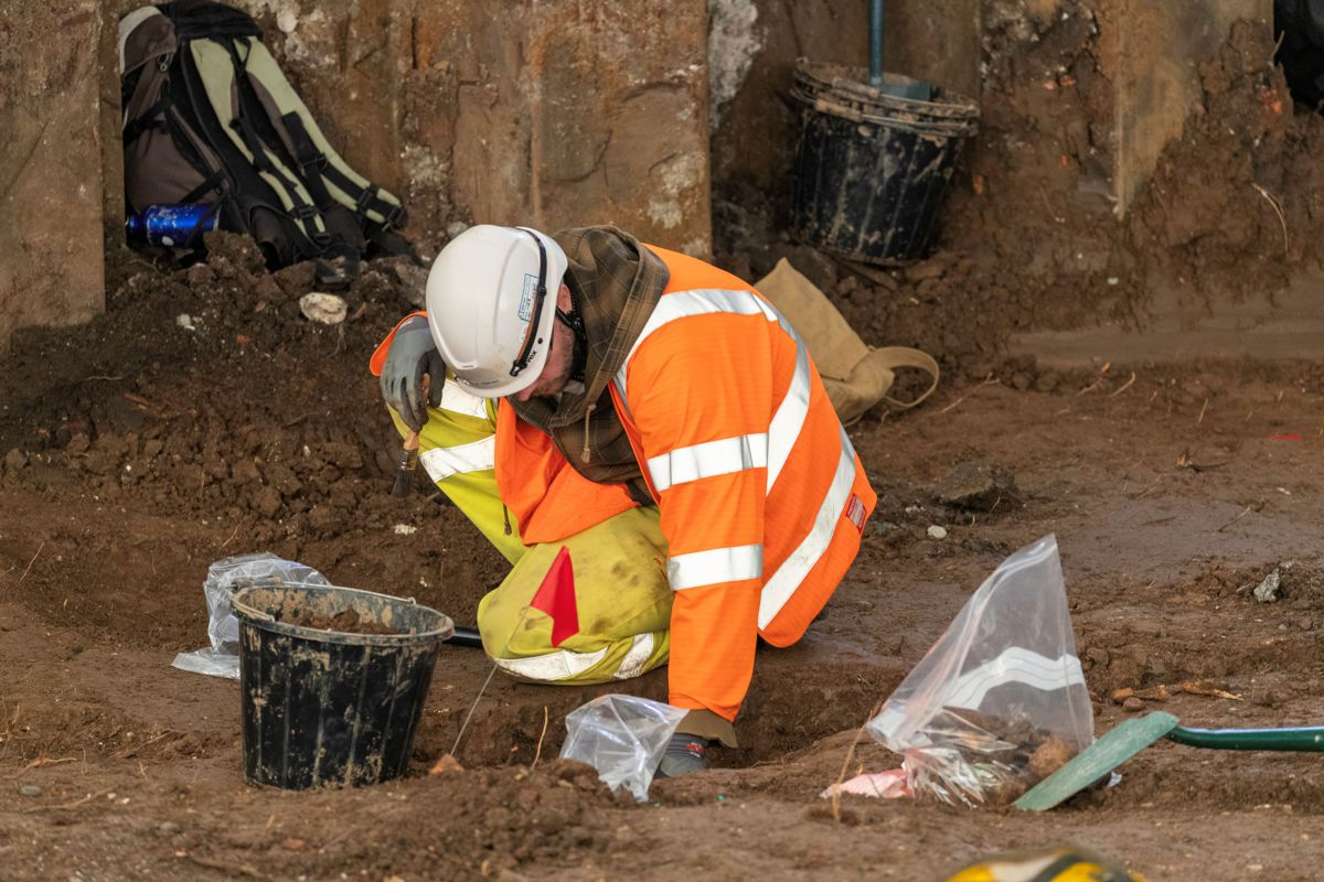 The excavation, which has already provided fascinating insights, will take one year