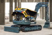 Compact Hyundai HX85A midi excavator delivers exceptional power