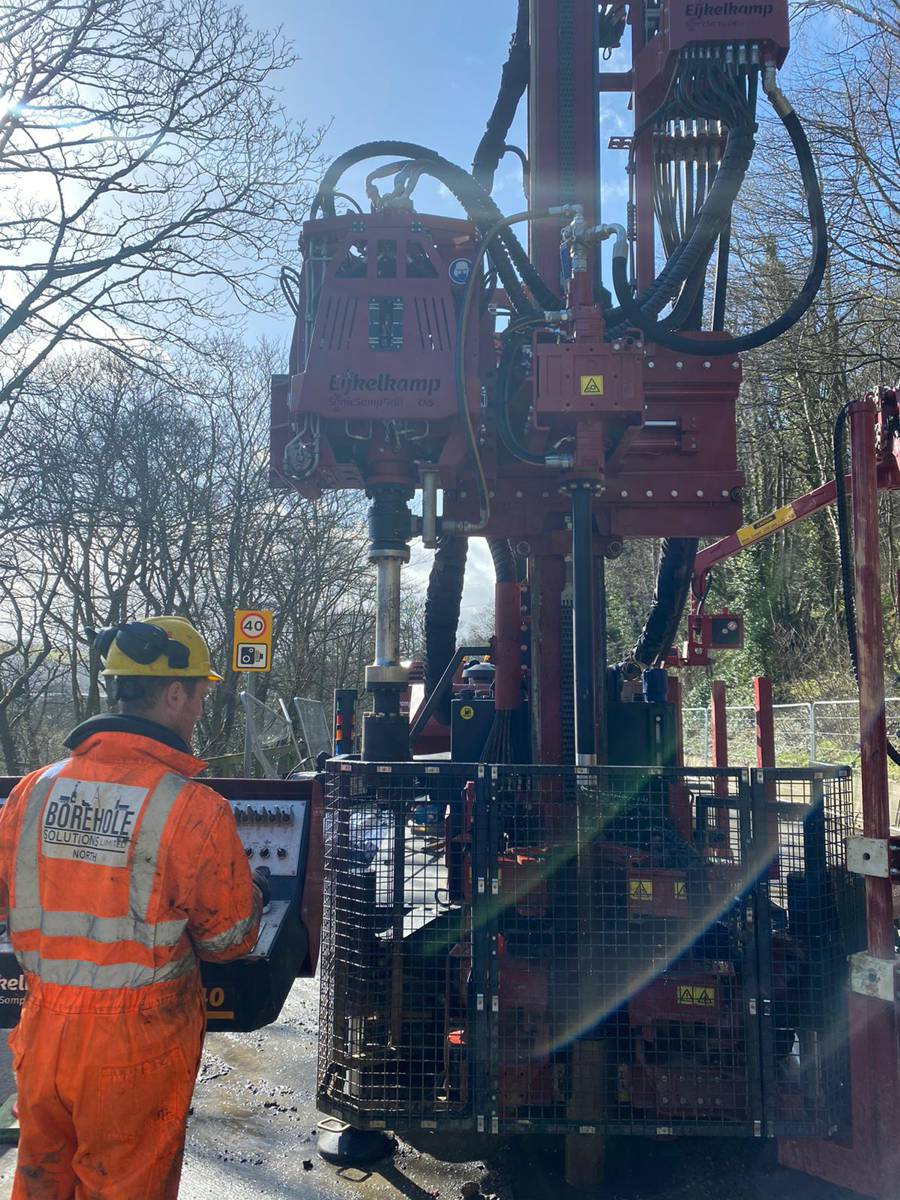 Geotechnical drilling for roads and highway