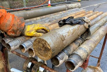 Geotechnical drilling for roads and highways