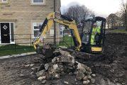 Holmfirth Building Services upgrades to Yanmar ViO26-6 Micro-Excavator