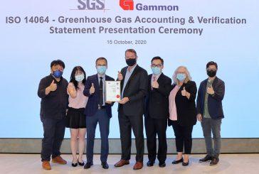 Gammon Construction celebrates ISO 14064 Carbon Accounting Standard award