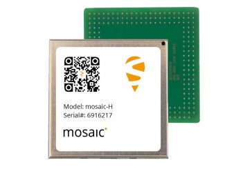 Accurate positioning and heading in a single compact module with the mosaic-H