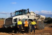 Terex Trucks TA400 Articulated Hauler gets tough in Australia
