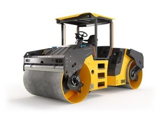 VolvoCE 14 ton DD145 compactor designed for the Chinese construction market