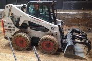 What are skid steers used for?