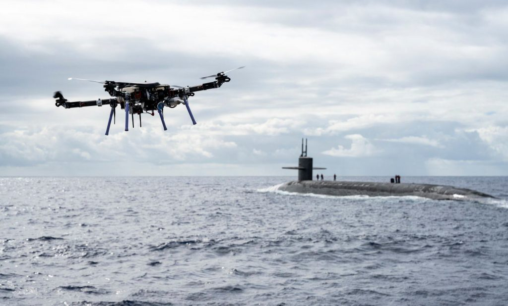Skyfront unveils drone delivery control handoff to a Submarine