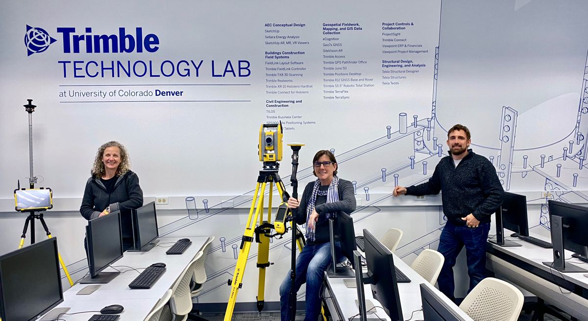 Trimble helps universities with donations of Technology Labs